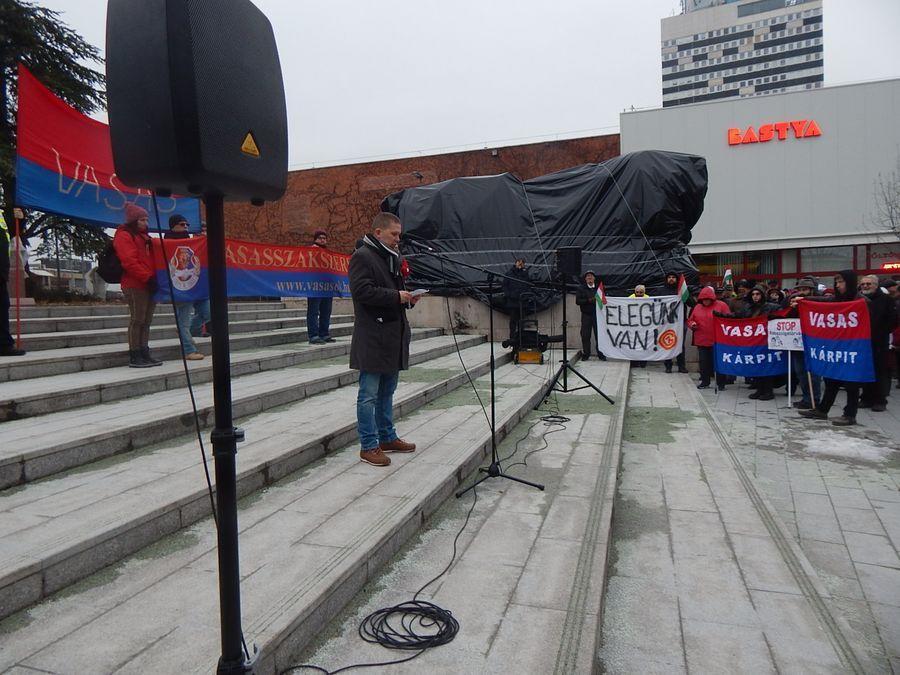 Veszprémi tüntetés