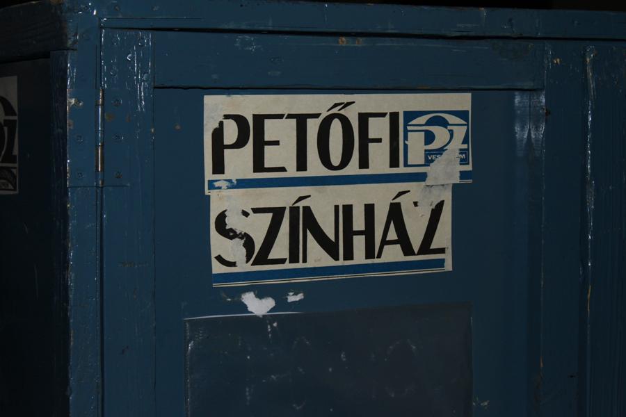Petőfi Színház színfalak mögött
